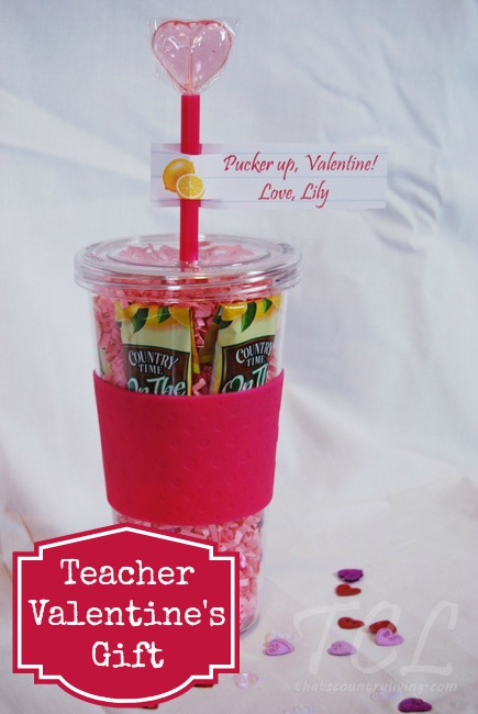 Pucker Up Valentine Lemonade Valentine S Teacher Gift