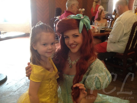lily and ariel at akershus