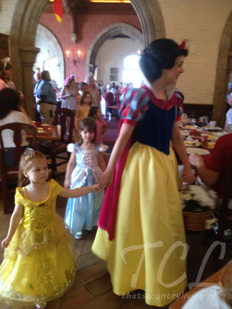 lily and snow white at akershus 1