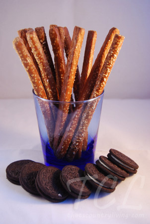 pretzels and oreos