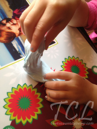 tcl homemade silly putty