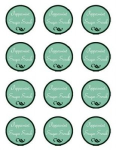 ingredients label template