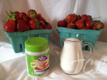 strawberry jam ingredients tcl