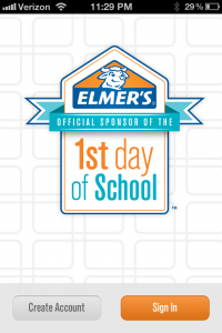 elmers 1st day app