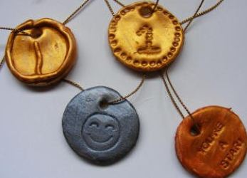 homemade olympics medals