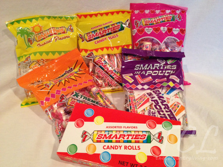 smarties prize pack TCL
