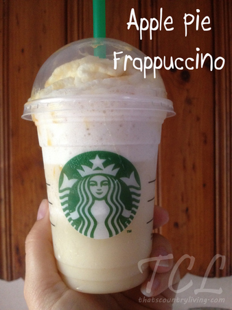 starbucks apple pie frappuccino