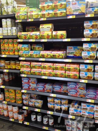 j fruit aisle in walmart 1