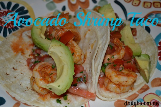 avocado shrimp taco