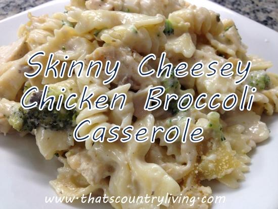 cheesey chicken casserole title