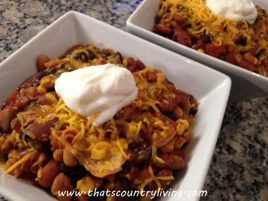 slow cooker chili 7