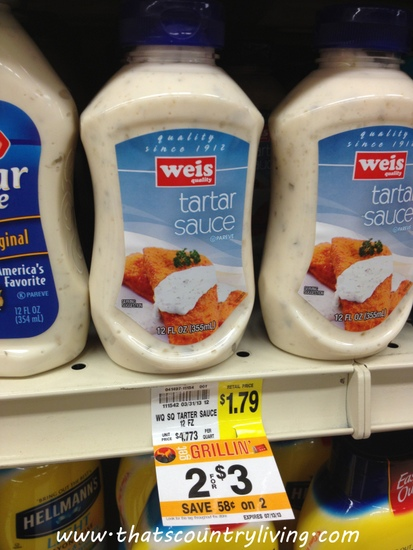 weis tartar sauce