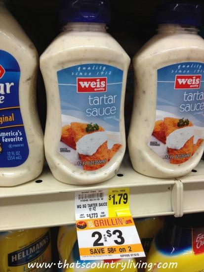 weis tartar sauce