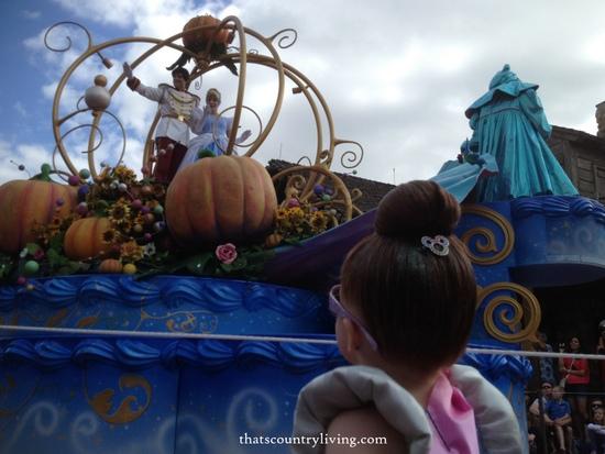 cinderella magic kingdom disney world parade