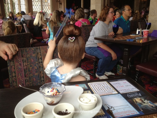 cinderellas castle character meal disney world 9
