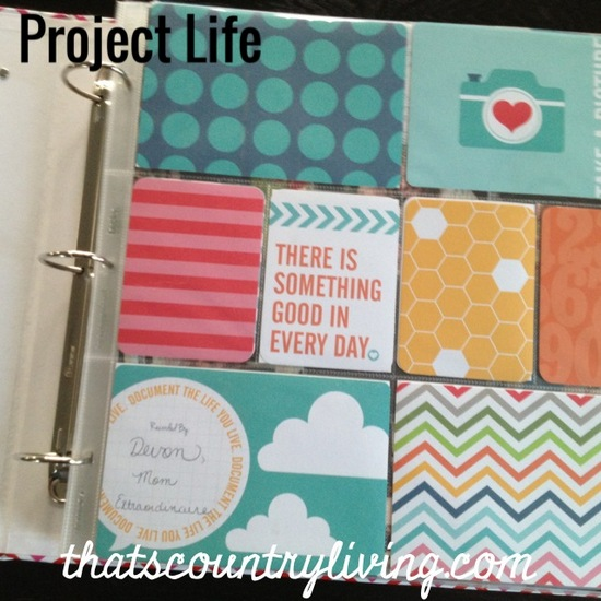 Project Life Week 1 b