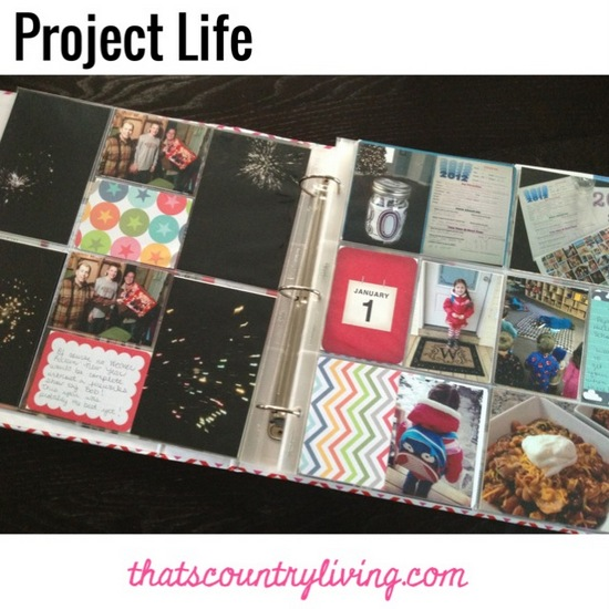 Project Life Week 1 d