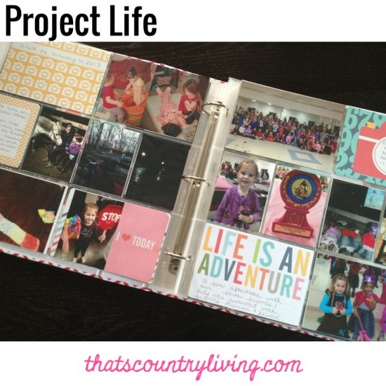 Project Life Week 1 e