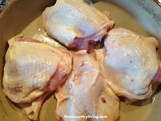 french dressing chicken 1
