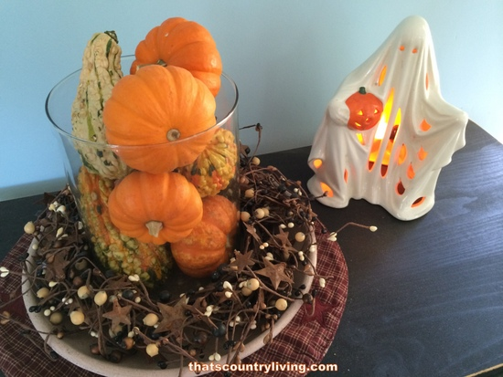 Simple halloween and fall decorating ideas