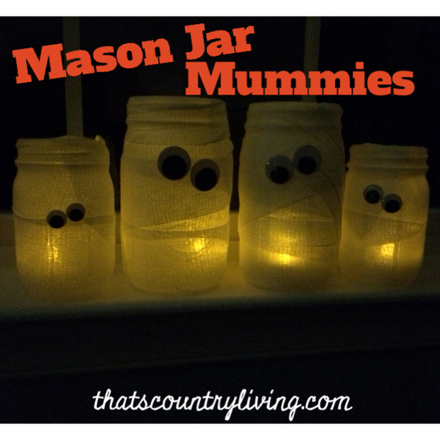 mason jar mummies 1