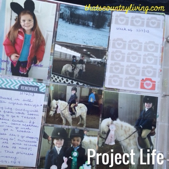 Project Life Week 6 a