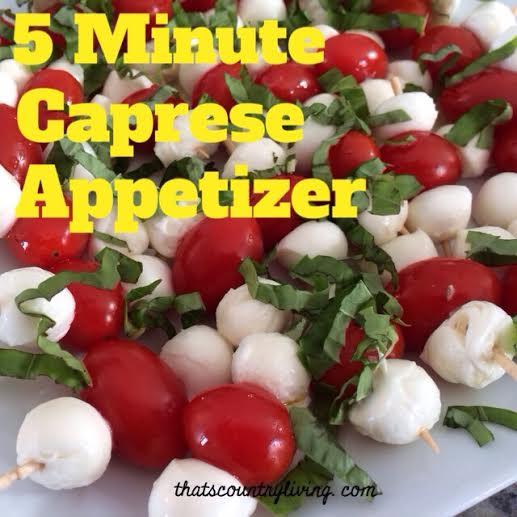 caprese appetizer 2