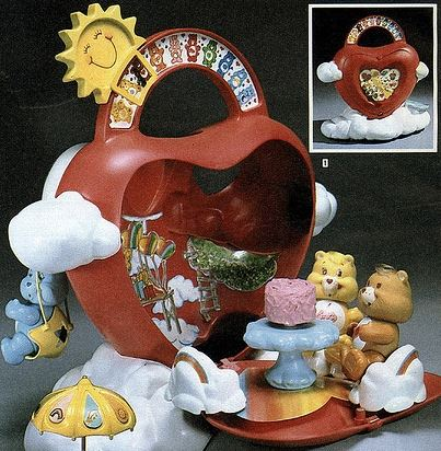 care bears heart house