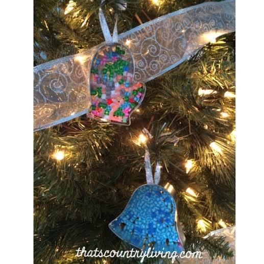 perler bead cookie cutter ornament 2