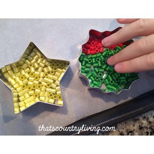 perler bead cookie cutter ornament 6