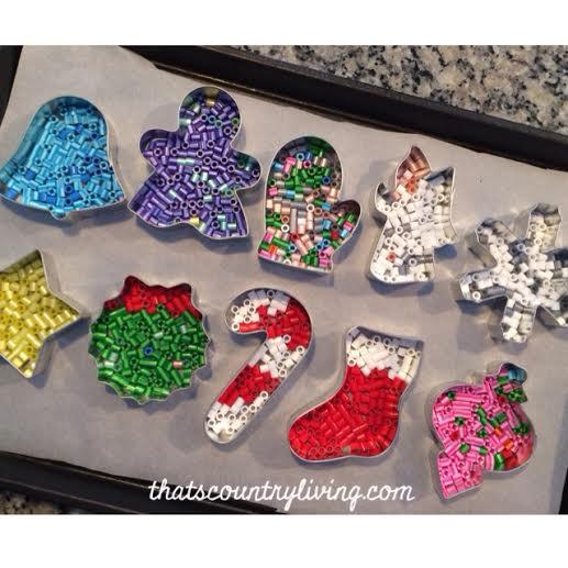 perler bead cookie cutter ornament 7