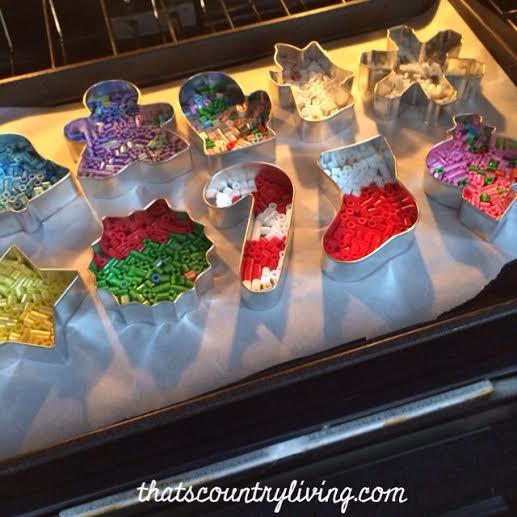 perler bead cookie cutter ornament 9