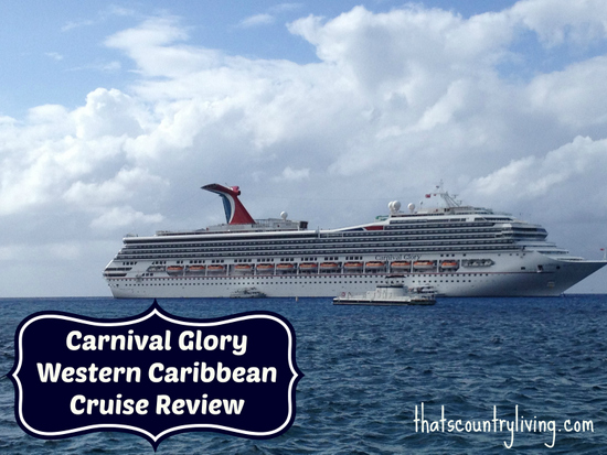 Carnival Glory cruise review grand cayman