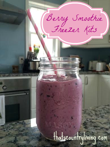 berry smoothie kits title