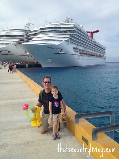bob and lily in cozumel