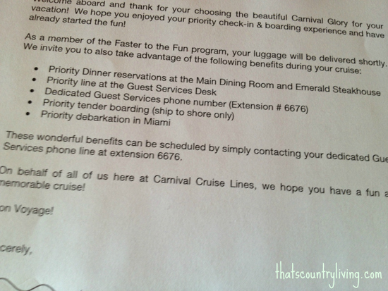 carnival cruise faster to the fun