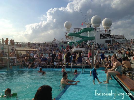 carnival glory pool