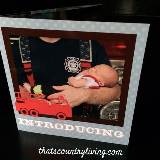 firetruck birth announcement 1
