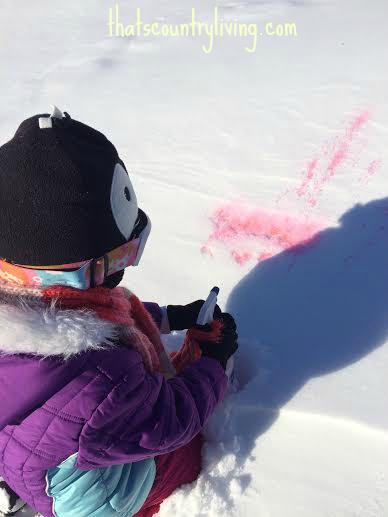 snow paint wm 8